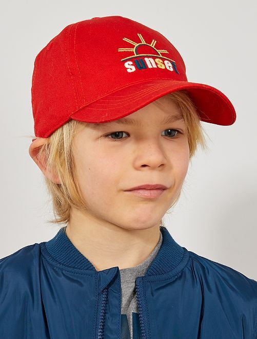 Gorra bordada                                         rojo Chico