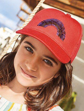 Niña 3-12 años - Gorra con lentejuelas reversibles - Kiabi bba5fc722f0