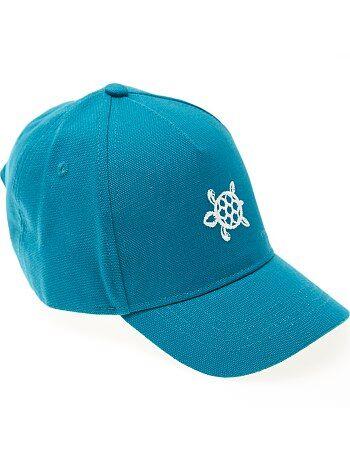 Gorra de algodón bordada - Kiabi