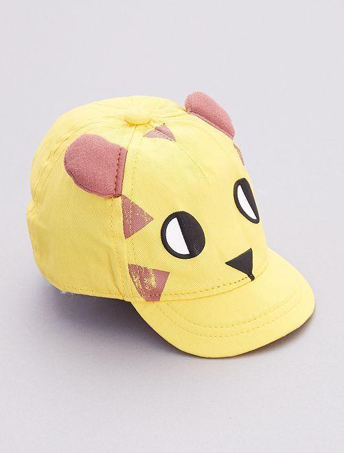 Gorra de algodón puro                             AMARILLO