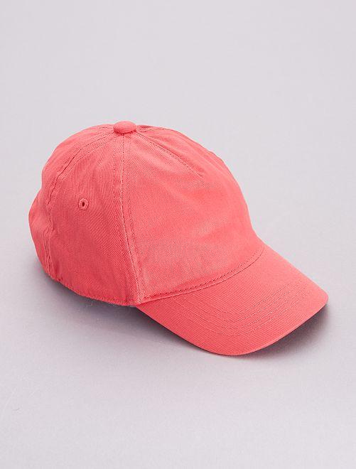 Gorra de baseball                                         ROJO