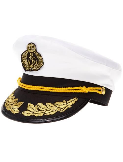 Gorra de capitán                             blanco