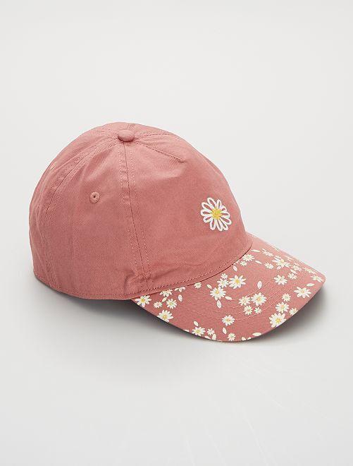 Gorra de 'flores'                             ROSA