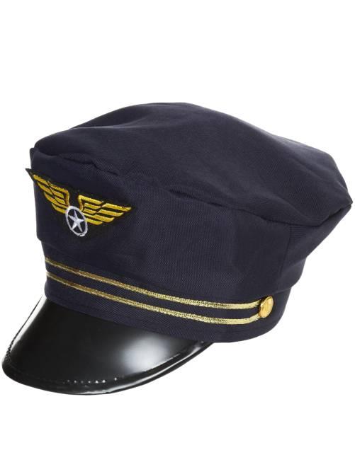 Gorra de piloto                             azul marino