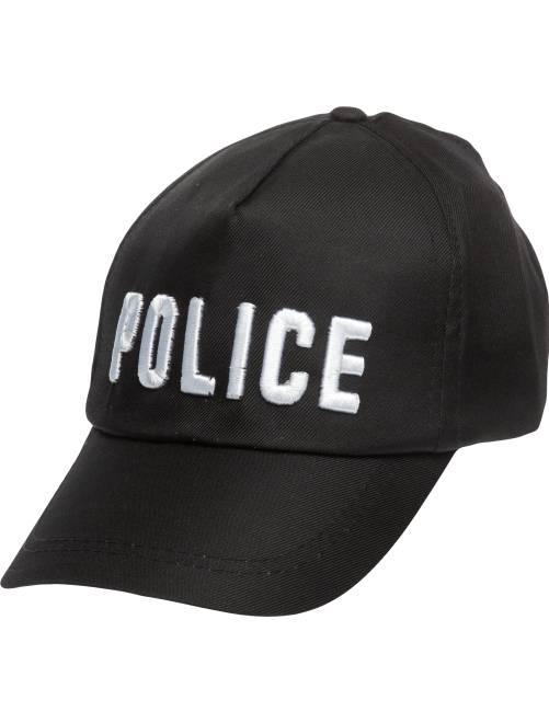 Gorra de policía                             negro Accesorios