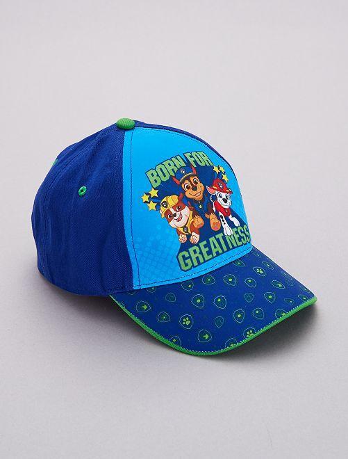 Gorra de sarga 'La Patrulla Canina'                             azul