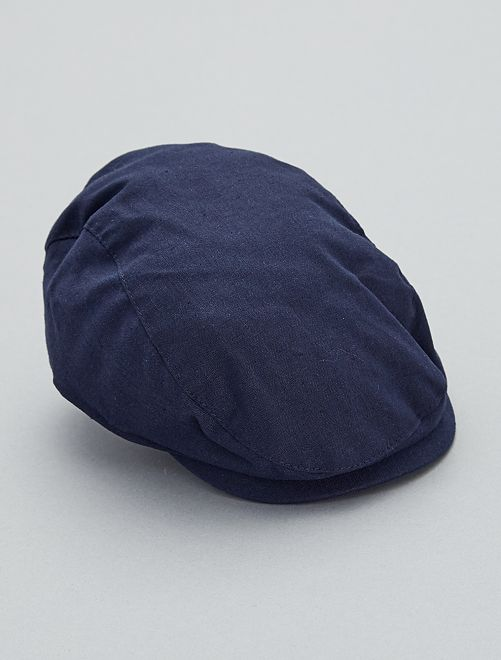 Gorra inglesa                                         azul Bebé niño