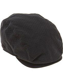 Accesorios - Gorra inglesa de algodón acolchado