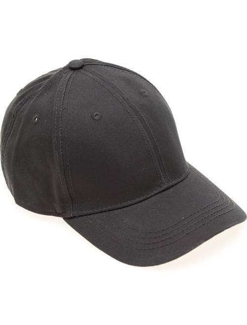 Gorra lisa                                                     negro