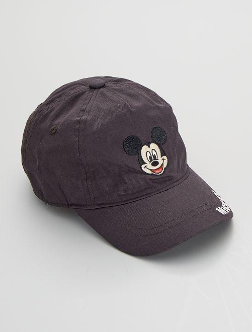 Gorra 'Mickey'                             negro