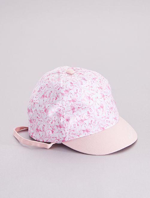 Gorra 'Minnie Mouse' 'Disney'                             rosa/blanco
