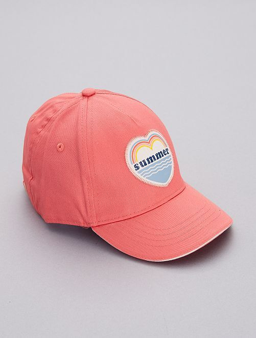 Gorra 'summer'                                         coral Chica