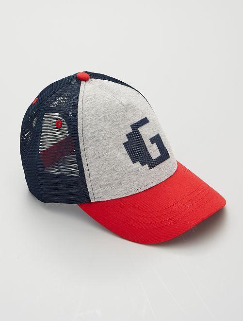 Gorra tipo béisbol                                         GRIS