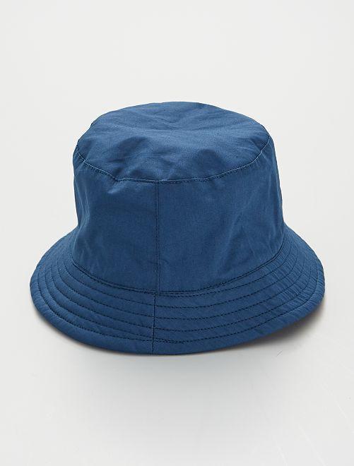 Gorro bucket de algodón                                         azul