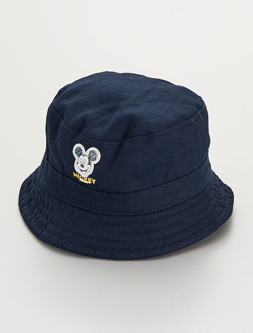 Gorro bucket de sarga 'Mickey' 'Disney'                             AZUL