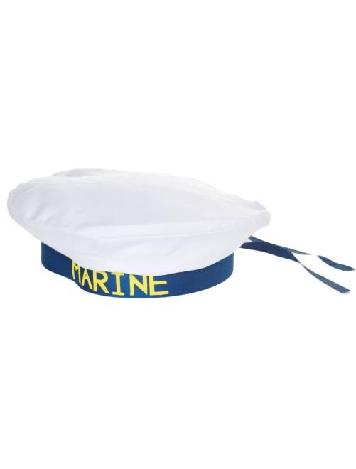 Gorro marinero                             blanco/azul
