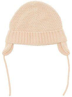 Complementos - Gorro tricotado con orejeras