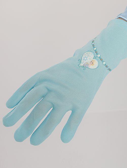 Guantes de Elsa 'Frozen'                             azul