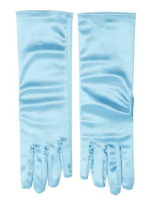Guantes de princesa de los hielos                                         azul Accesorios