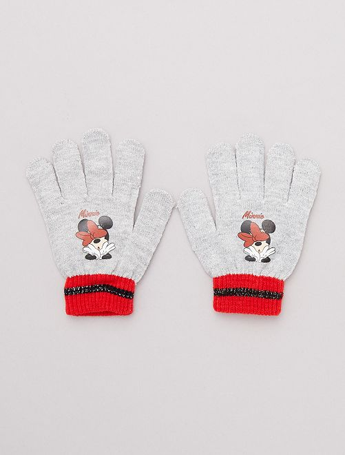 Guantes 'Minnie'                                         gris Chica