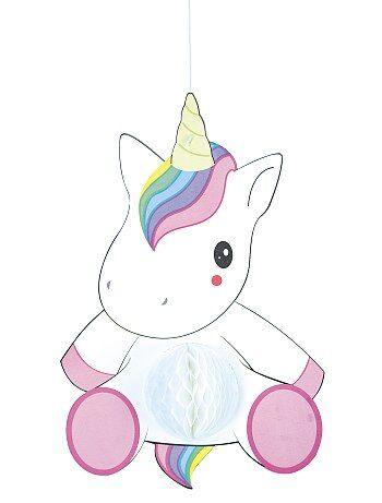 Guirnalda de unicornio alveolada - Kiabi