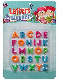 Juguetes - Imanes de letras