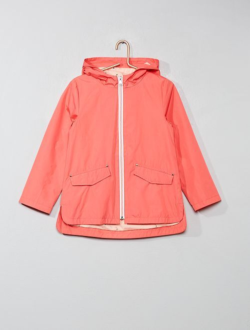 Impermeable liso                                         ROSA Chica