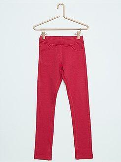 Pantalones - Jegging de felpa