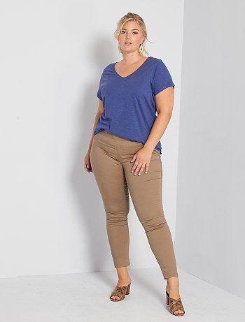 Jeggings Treggings De Mujer En Tallas Grandes Baratos Moda Tallas Grandes Mujer Kiabi