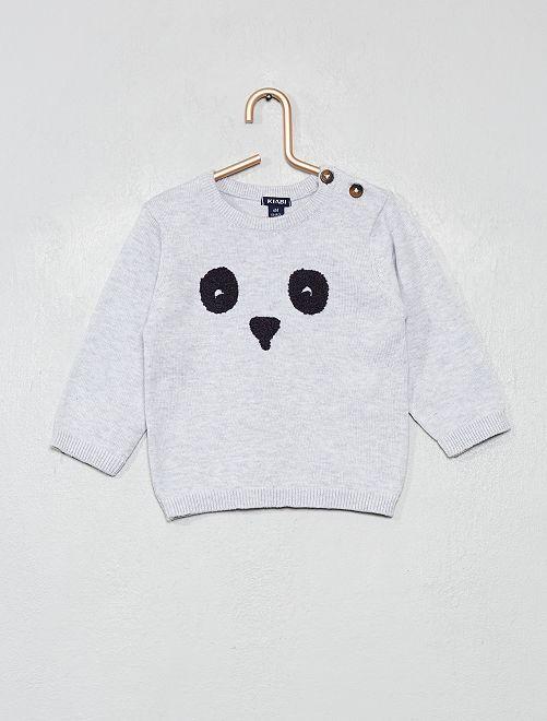 Jersey algodón bio 'eco-concepción'                                                                 GRIS