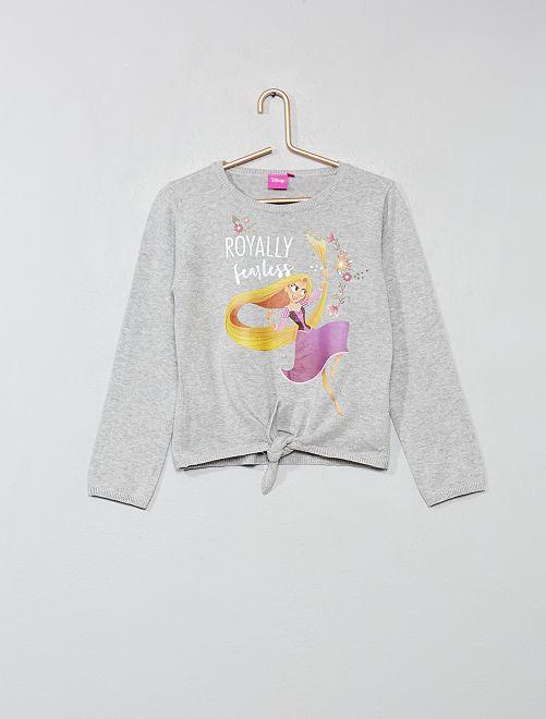 Jersey anudado 'Minnie'                             GRIS Chica