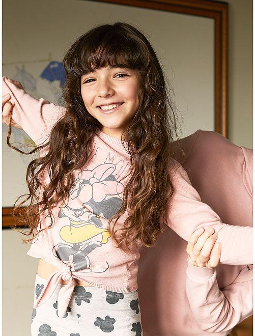 Jersey anudado 'Minnie'                                         rosa Chica