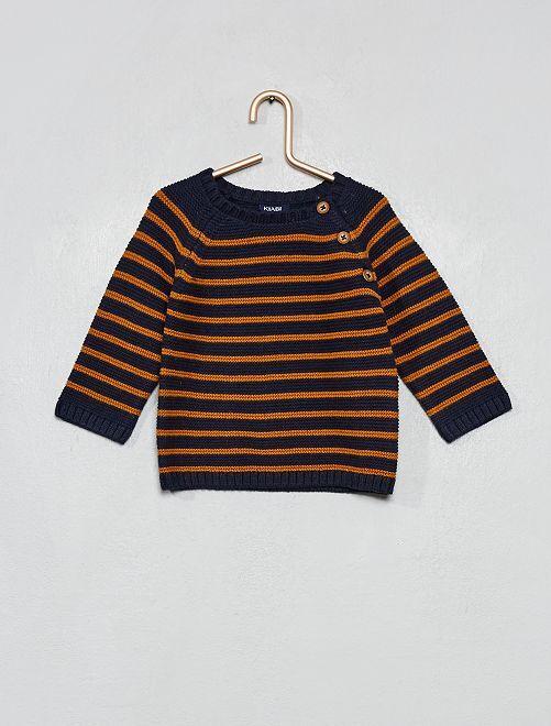 Jersey de algodón                     AZUL