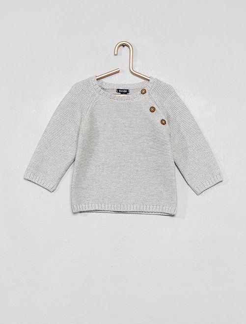 Jersey de algodón                                                                             GRIS