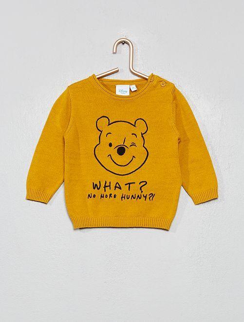 Jersey de algodón 'Winnie'                             AMARILLO