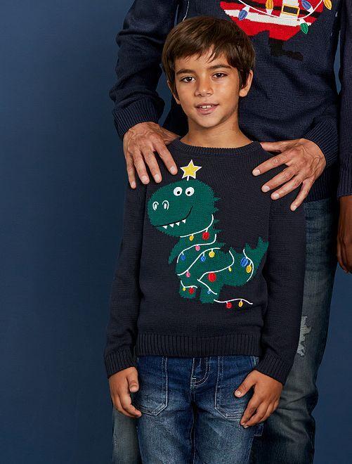 Jersey de estilo 'Navidad'                             AZUL