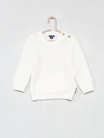 Jersey de punto de arroz de algodón puro - Kiabi 68eb37daec28