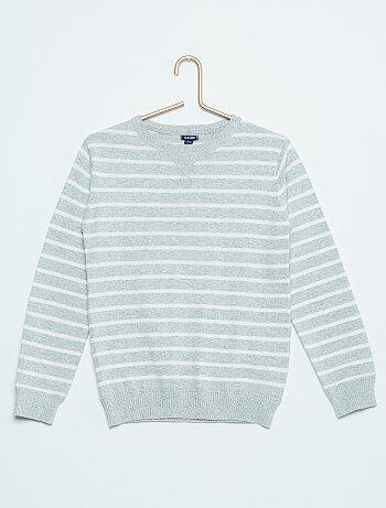 8fd5e8910 Rebajas jersey chico barato | chaleco de punto | moda de Chico | Kiabi