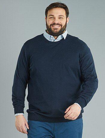 Jersey de punto fino de algodón puro - Kiabi