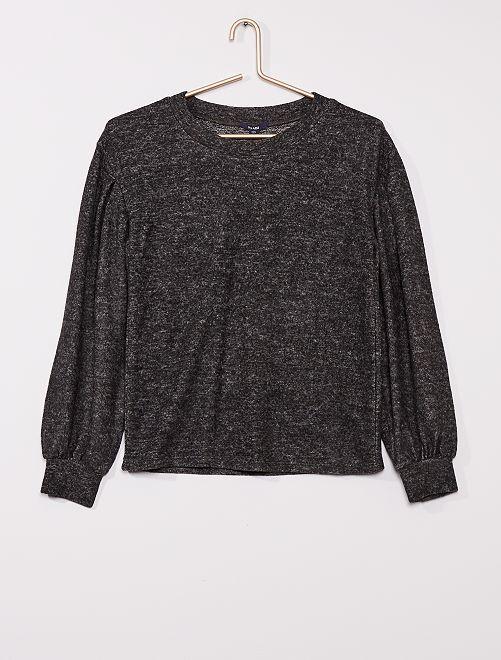 Jersey de punto suave                                         gris