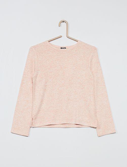 Jersey de punto suave                                                                 rosa