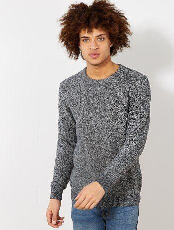 423e73bdc6f Jerséis con cuello redondo. mejor moda para Hombre