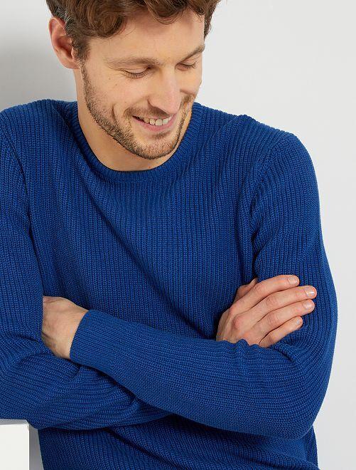 Jersey 'eco-concepción'                                                     azul