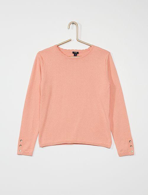 Jersey fino de algodón                                                                                                     ROSA