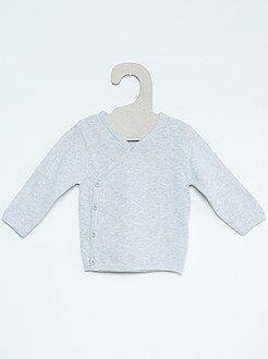 Prematuros talla 00m - Jersey para bebé de punto fino de algodón puro - Kiabi