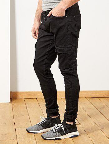 a4be044c Jogg jean skinny con bolsillos cargo - Kiabi