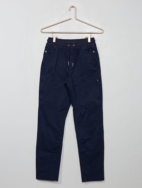 Joggpant con bolsillos                                                     azul