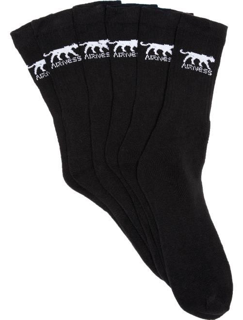 Juego de 3 pares de calcetines 'Airness'                             negro