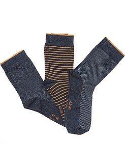 Calcetines - Juego de 3 pares de calcetines