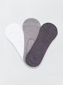 Calcetines - Juego de 3 pares de calcetines invisibles